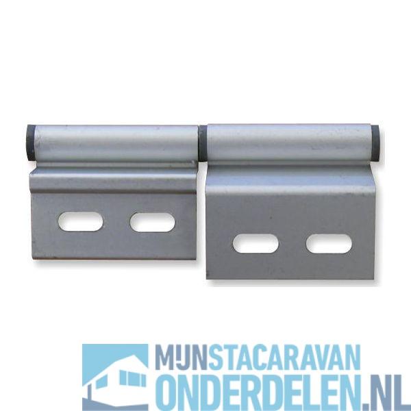 Geliefde Stacaravan Aluminium deurscharnier Links - Mijn Stacaravan Onderdelen MN24